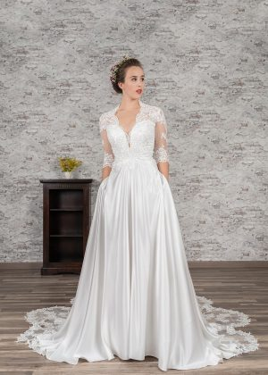 Fuchs Moden 2021 Brautkleid D 03388 (1) Brautmode in Berlin Avorio Vestito BrideStore and more