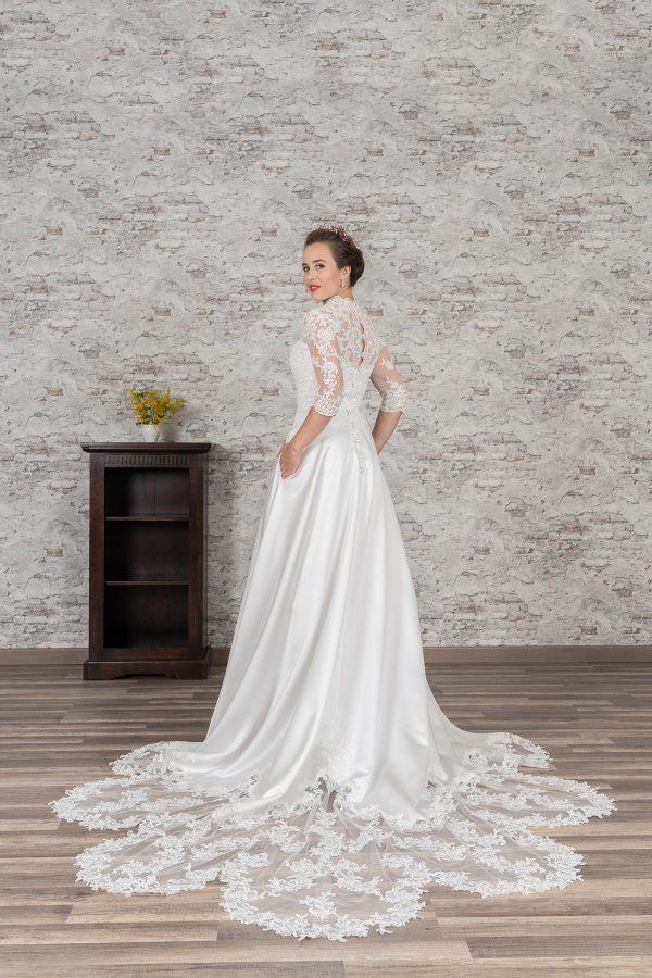 Fuchs Moden 2021 Brautkleid D 03388 (2) Brautmode in Berlin Avorio Vestito BrideStore and more