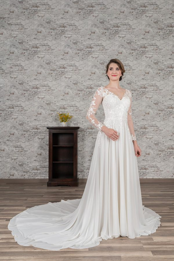 Fuchs Moden 2021 Brautkleid D 03394 (1) Brautmode in Berlin Avorio Vestito BrideStore and more