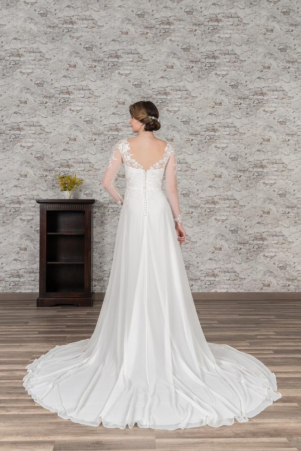 Fuchs Moden 2021 Brautkleid D 03394 (2) Brautmode in Berlin Avorio Vestito BrideStore and more