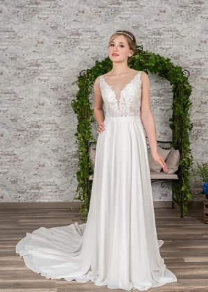 Fuchs Moden 2021 Brautkleid D 03397 (1) Brautmode in Berlin Avorio Vestito BrideStore and more
