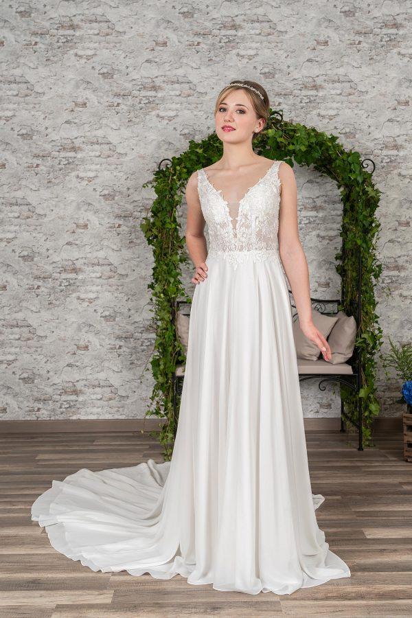 Fuchs Moden 2021 Brautkleid D 03397 (1) Brautmode in Berlin Avorio Vestito BrideStore and more
