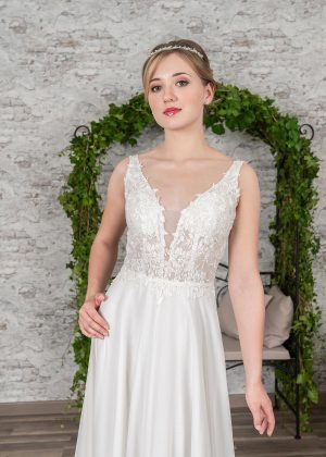 Fuchs Moden 2021 Brautkleid D 03397 (3) Brautmode in Berlin Avorio Vestito BrideStore and more