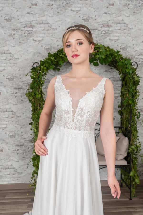 Fuchs Moden 2021 Brautkleid D 03397 (3) Brautmode in Berlin Avorio Vestito BrideStore and more