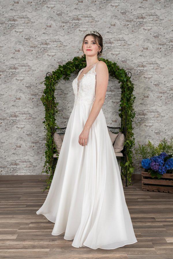Fuchs Moden 2021 Brautkleid D 03398 (1) Brautmode in Berlin Avorio Vestito BrideStore and more