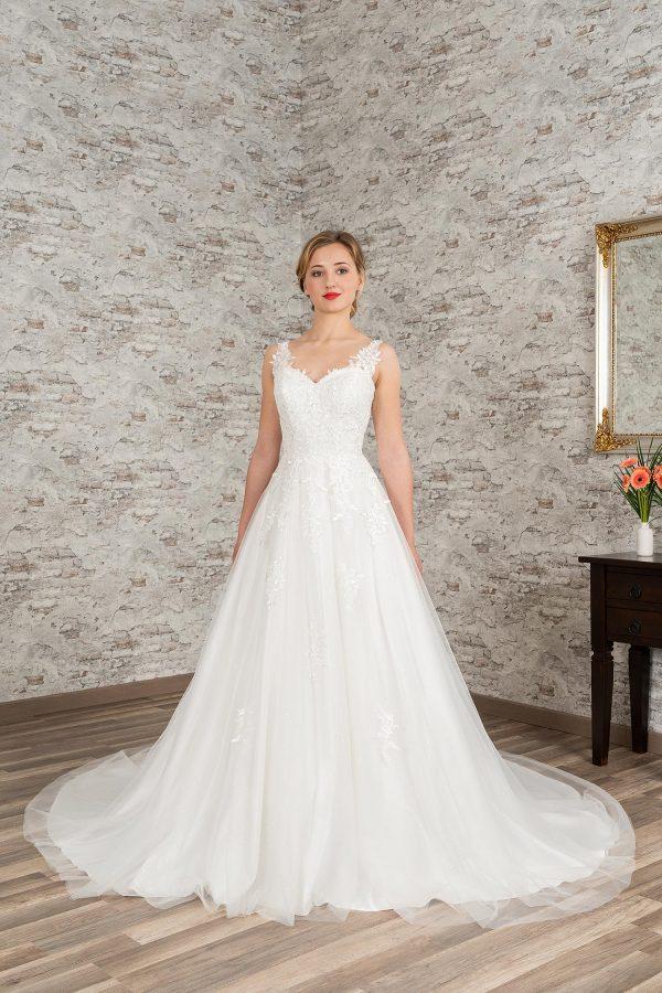 Fuchs Moden 2021 Brautkleid D 03404 (1) Brautmode in Berlin Avorio Vestito BrideStore and more