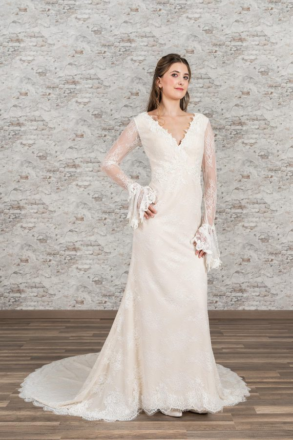 Fuchs Moden 2021 Brautkleid D 03407 (1) Brautmode in Berlin Avorio Vestito BrideStore and more