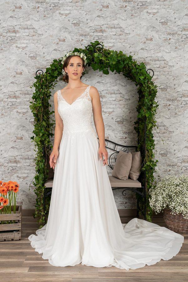 Fuchs Moden 2021 Brautkleid D 03408 (1) Brautmode in Berlin Avorio Vestito BrideStore and more