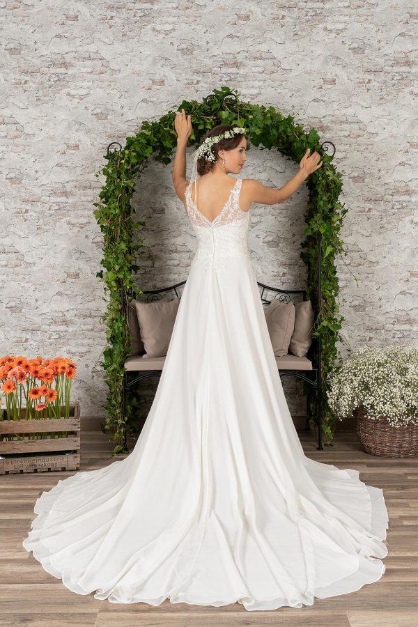Fuchs Moden 2021 Brautkleid D 03408 (3) Brautmode in Berlin Avorio Vestito BrideStore and more