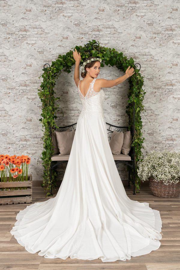 Fuchs Moden 2021 Brautkleid D 03408 (4) Brautmode in Berlin Avorio Vestito BrideStore and more