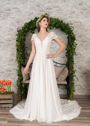 Fuchs Moden 2021 Brautkleid D 03411 (1) Brautmode in Berlin Avorio Vestito BrideStore and more
