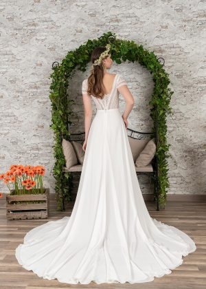 Fuchs Moden 2021 Brautkleid D 03411 (2) Brautmode in Berlin Avorio Vestito BrideStore and more