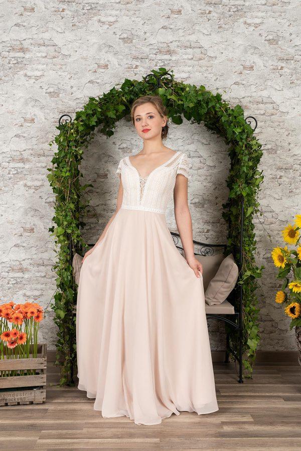 Fuchs Moden 2021 Brautkleid D 03412 (1) Brautmode in Berlin Avorio Vestito BrideStore and more