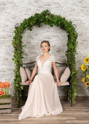 Fuchs Moden 2021 Brautkleid D 03412 (3) Brautmode in Berlin Avorio Vestito BrideStore and more