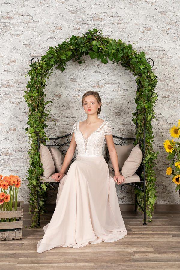 Fuchs Moden 2021 Brautkleid D 03412 (3) Brautmode in Berlin Avorio Vestito BrideStore and more