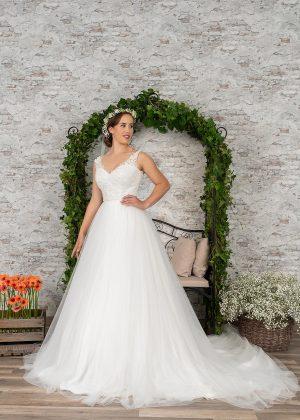 Fuchs Moden 2021 Brautkleid D 03414 (1) Brautmode in Berlin Avorio Vestito BrideStore and more