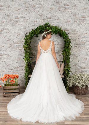 Fuchs Moden 2021 Brautkleid D 03414 (2) Brautmode in Berlin Avorio Vestito BrideStore and more