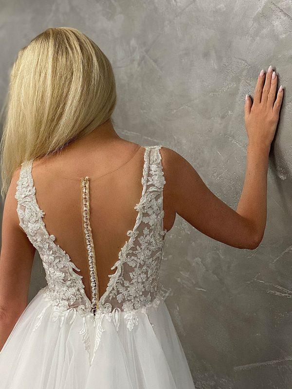 Miss Germany 2021 Brautkleid MGB48 1 Avorio Vestito BrideStore and more Brautmode in Berlin