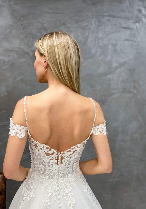 Miss Germany 2021 Brautkleid MGB60 3 Avorio Vestito BrideStore and more Brautmode in Berlin