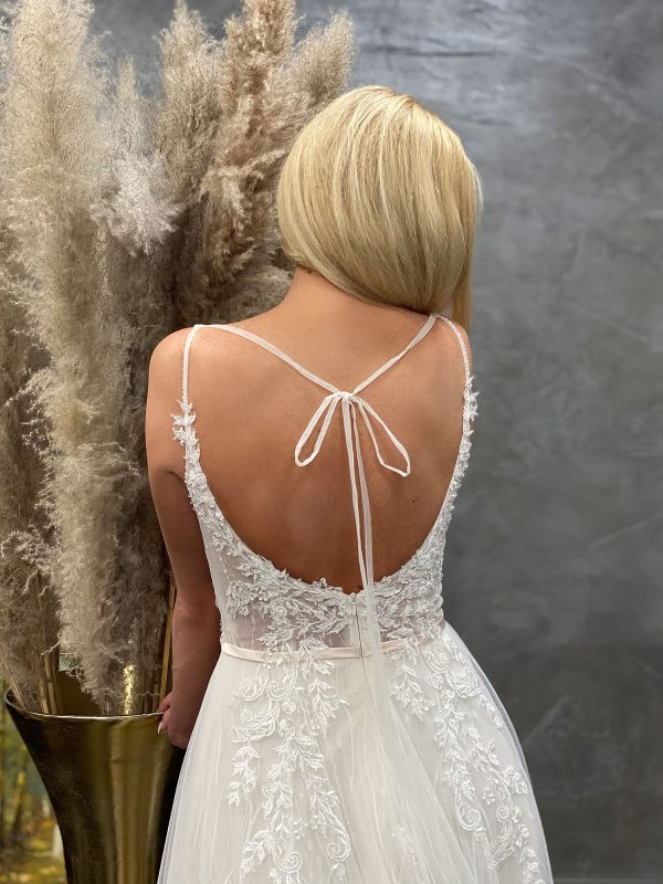 Miss Germany 2021 Brautkleid MGB61 5 Avorio Vestito BrideStore and more Brautmode in Berlin