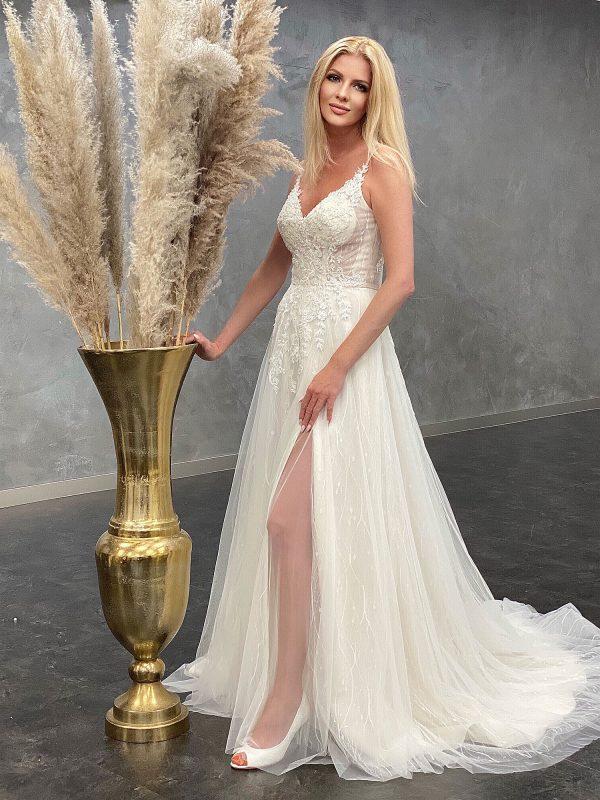Miss Germany 2021 Brautkleid MGB61 7 Avorio Vestito BrideStore and more Brautmode in Berlin