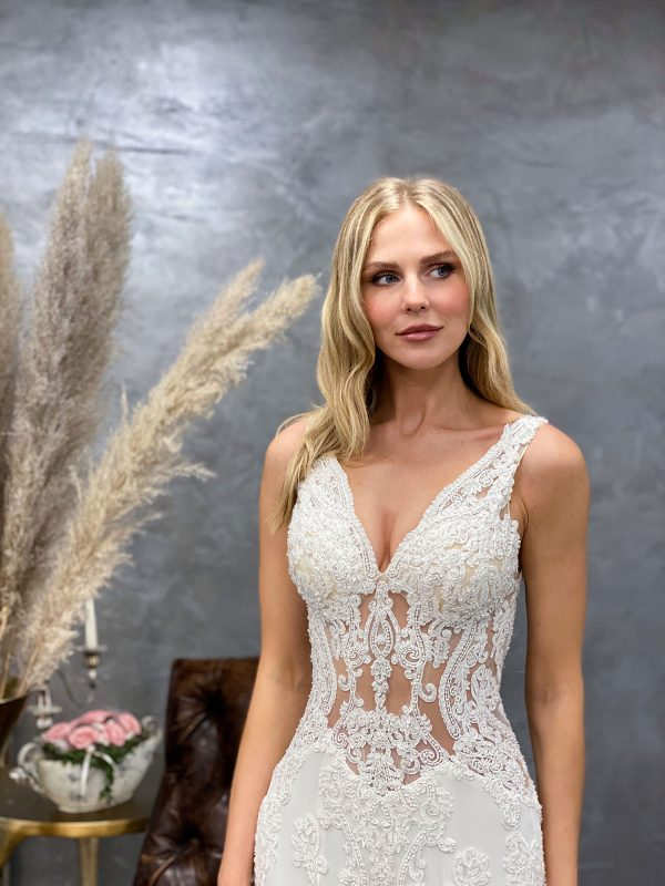 Miss Germany 2021 Brautkleid MGB62 3 Avorio Vestito BrideStore and more Brautmode in Berlin