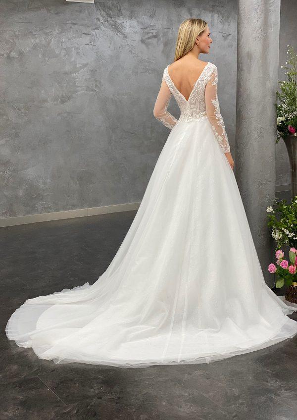 Miss Germany 2021 Brautkleid MGB64 3 Avorio Vestito BrideStore and more Brautmode in Berlin