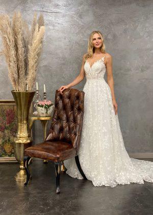 Miss Germany 2021 Brautkleid MGB66 3 Avorio Vestito BrideStore and more Brautmode in Berlin