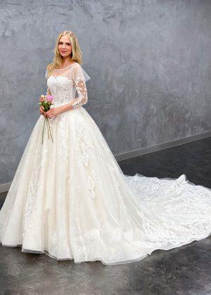 Miss Germany 2021 Brautkleid MGB67 1 Avorio Vestito BrideStore and more Brautmode in Berlin