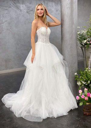 Miss Germany 2021 Brautkleid MGB68 1 Avorio Vestito BrideStore and more Brautmode in Berlin