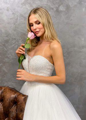 Miss Germany 2021 Brautkleid MGB70 1 Avorio Vestito BrideStore and more Brautmode in Berlin