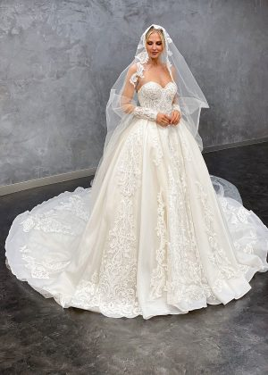 Miss Germany 2021 Brautkleid MGB71 1 Avorio Vestito BrideStore and more Brautmode in Berlin