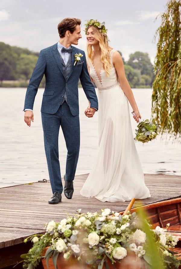 Wilvorst atelier torino Vintage Wedding 2021 Herrenanzug wil 0121 kam at gala vintage wedding Look3 1 Brauutigam Anzug Berlin Avorio Vestito BrideStore and more